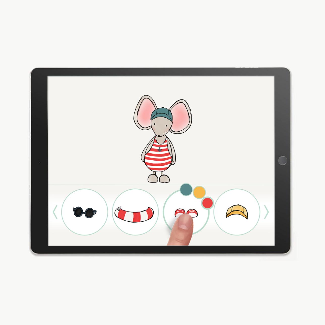 app-design-thuis-bij-muis-aankleedspel