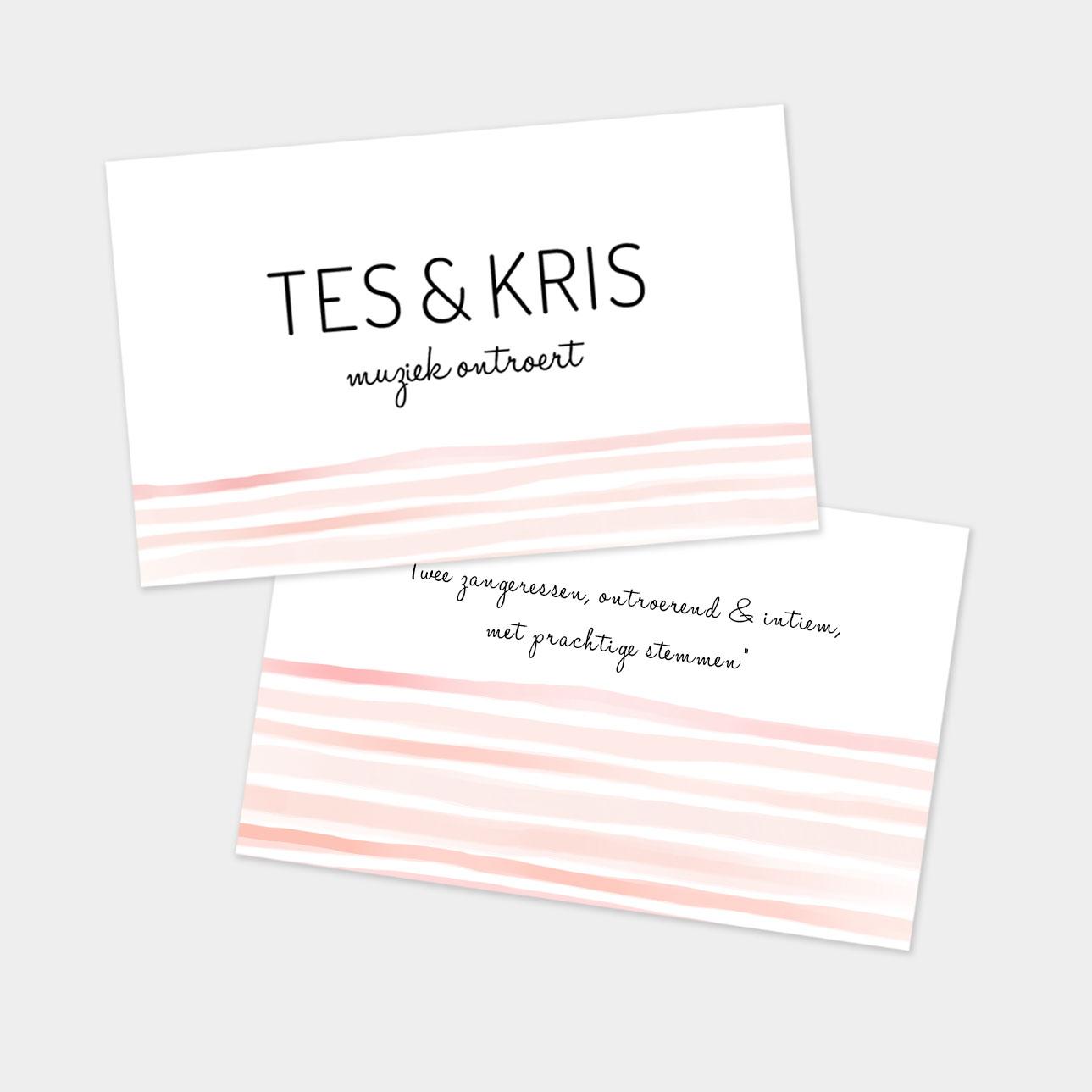 Logo ontwerp Tes & Kris