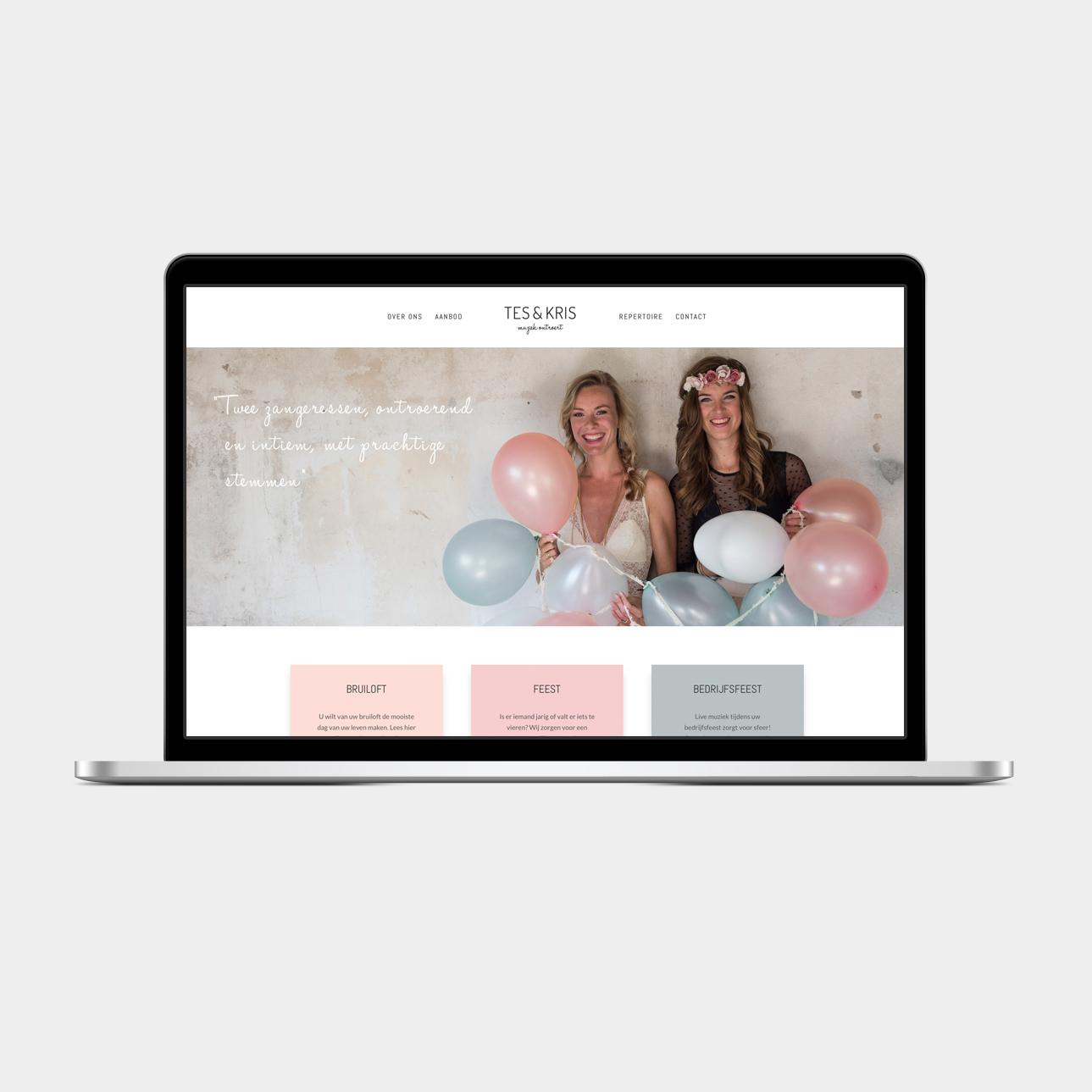 Webdesign Tes & Kris