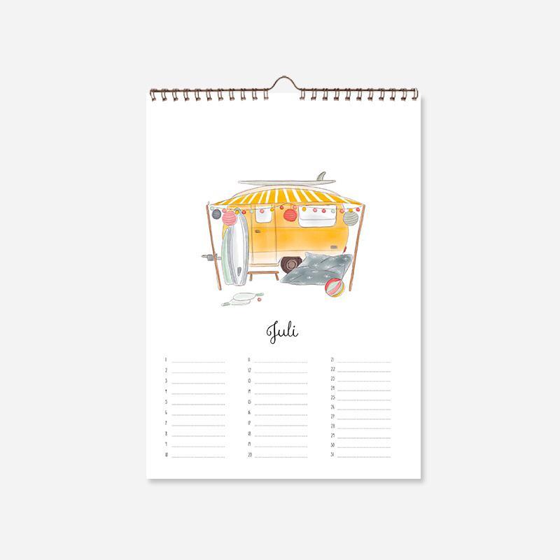 Tekeningen Kalender