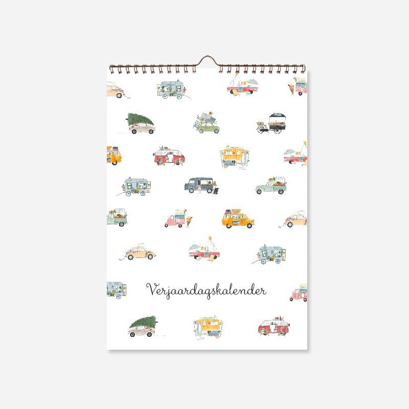 Kalender Illustraties Stationery Store