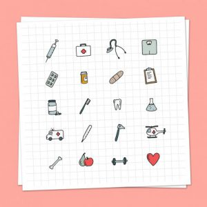 Medisch Iconen Set