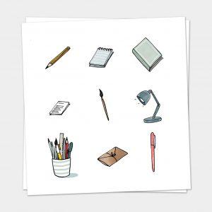 Iconen Stationery