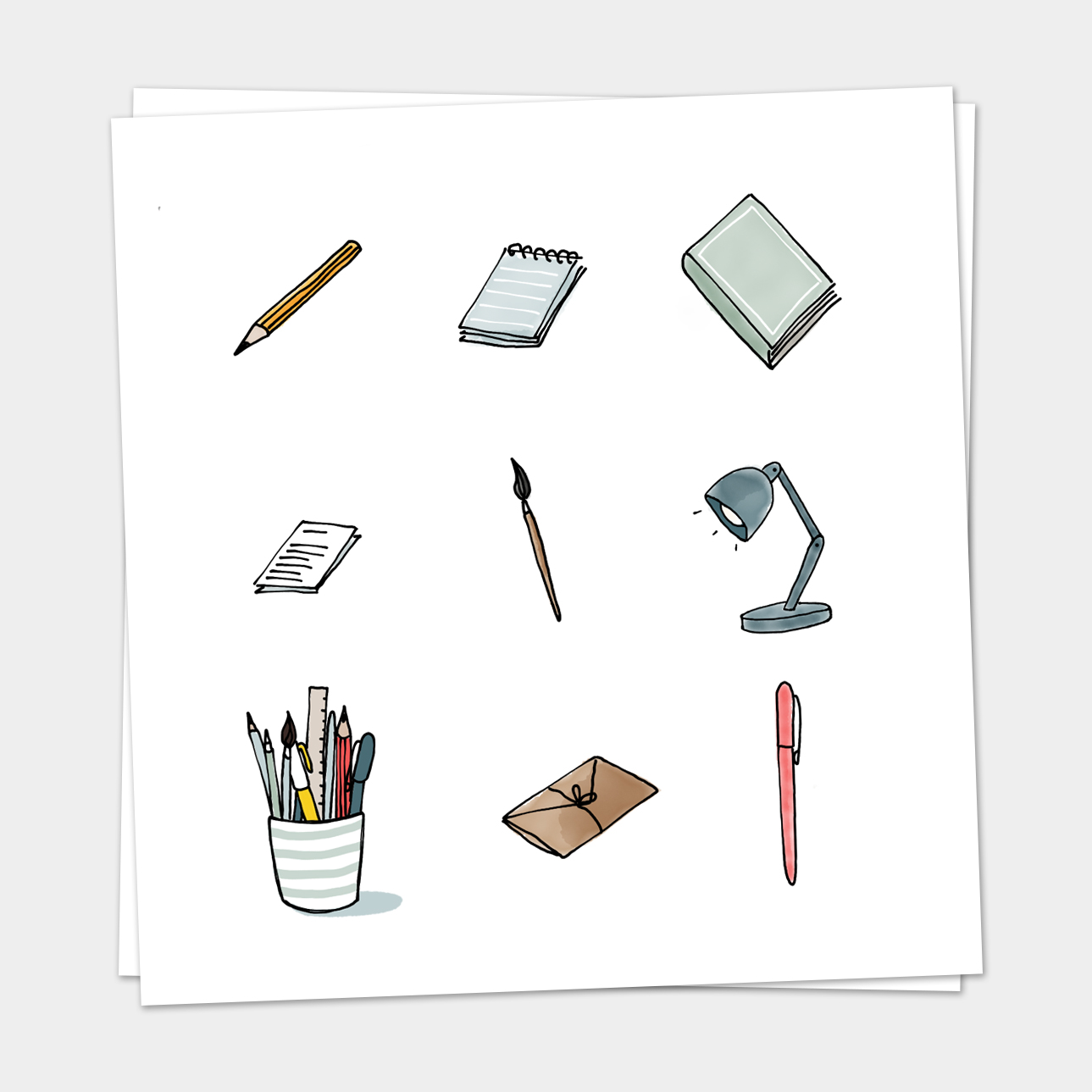 Iconen Stationery