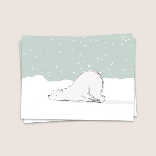 Animatie ijsbeer
